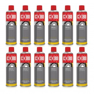 CX-80 XBRAKE X-BRAKE CLEANER 500ML DO HAMULCÓW X12