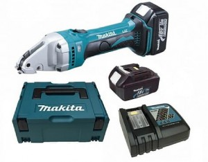 MAKITA DJS161RFJ Nożyce Do Blachy Aku 18V 2x3.0Ah
