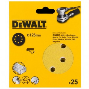 DeWALT DT3115  PAPIER 120G 125mm 25szt Do D26453
